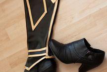 Nähen-Schuhe