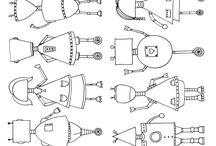 Robots / Espace