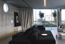Interior design Gresie gri închis