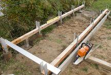 Holzaufbewahrung