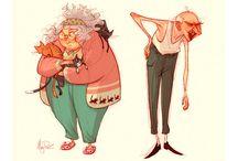 Old people referências