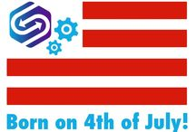 Born on the Fourth of July 2015! / SyncFab was Born on the Fourth of July 2015 in California!