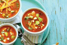 Steamy Soups / Recipe for a great big bowl of soup