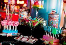 Sweet buffet  / Different sweet arrangement