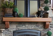 Fireplace and entryway / by Elaine Morton