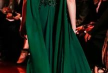 Evening gowns / Green gown