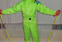 ski suit 80's IV. retro suit
