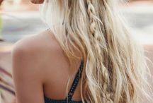 Boho hairstyles
