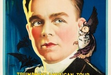 1920s Magicians (1900-1029) / Stage Magicians, mostly 1920s but some of those old posters are irresistable.