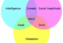 Why Yes, I Am a Nerd / No surprise here. For any of my nerdy thoughts or geeky obsessions (that I haven't managed to make a separate board for) / by Shelby S