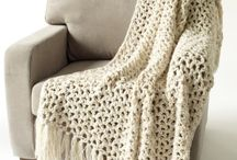 Crochet and Knitted  Blankes
