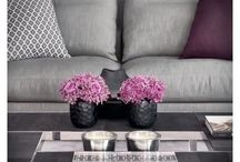 Beautify your home / Flowers and plants in the home may seem extravagant or over rated, however, as you can see from the photos pinned here, these rooms would not be the same with out the flora subtlety beautifying each room.