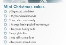 Christmas  cooking  / Sweet and savory Christmas recipes