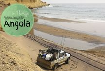 Lugares paisajes de Angola