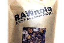 Designed2Eat | RAWnola / Free From | Dairy | Gluten | Wheat | Egg | Soy | Corn | Yeast | with only naturally occurring sugars Breakfast Cereal!