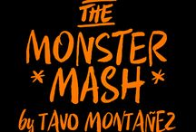 Tavo Montañez: The Monster Mash / This October I'm taking a personal challenge by doing one drawing a day. Inspired by Inktober and Drawlloween I'm trying to improve some skills and develop new drawing habits behind the character design for kids, creating 31 monsters in 31 days first drawn with pencil on paper and later remastered and coloured in Adobe Photoshop.