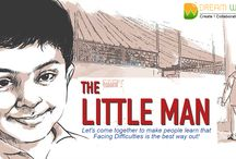 THE LITTLE MAN / The Little Man‬ is a ‎Short Film‬ in which the director Salim Akhtar‬ addresses the issue of bullying‬ and ‎abuse‬ in schools‬ with a cheeky touch of humor. The narrative is from a ‪kid‬'s perspective, because children‬ are honest and transparent in their approach.