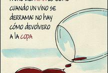 Frases de vinos