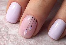 Цветочные ногти