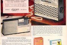 Radio's (vintage ads)