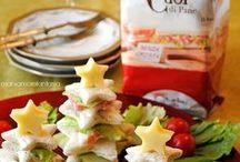Christmas finger food