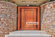 Puertas de madera contemporáneas | Modernas / Puertas de madera contemporáneas | Modernas y vanguardistas, para la arquitectura de hoy.  http://www.artedoor.es/?p=1323