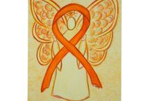 Orange Awareness Ribbon Support and Art Gifts / The orange awareness ribbon color means support for Multiple Sclerosis, Leukemia, Self Injury, Animal Cruelty, ADHD, Kidney Cancer, Chronic Obstructive Pulmonary Disease (COPD),  Teen Dating Violence, Racial Tolerance/ Cultural Diversity and Underage Drinking awareness to name a few. Let this awareness ribbon be support of them and the other awareness causes that use the orange ribbon color!