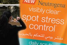 NEUTROGENA spot stress control / To introduce Neutrogena Visibly Clear Spot Stress Control Daily Scrub to the Lebanese market, we developed an activation that reaches the core target of the product: university students who tend to be stressed out by the increasing demands of university life.  Playing on the benefits of the product, we created a De-Stress campaign, and invited students to write down their stressors on a balloon, and try to pop it with a dart for a chance to win instant gifts from Neutrogena.