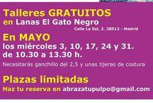 Talleres de Manualidades / Talleres de Manualidades de Lanas El Gato Negro y otros.