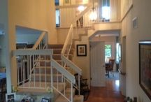 African Mahogany Staircase / Staircase Remodel For Haigh.