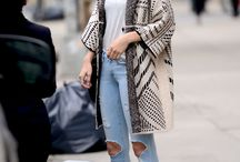 Gigi Hadid outfits / A collection of the beautiful Gigi Hadid and her street style, casual style or workout clothes because everything she wears is perfect