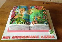 open book cakes