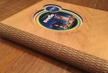 Laser cut portfolio book / Laser cut portfolio book
