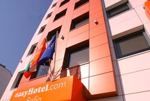 Cheap BUDGET hotel in Sofia, Bulgaria - easyHotel Sofia - LOW COST / easyHotel Sofia is part of the British hotel chain easyHotel.com / From 19 EUR per Double room with window, bathroom, air condition, free of charge Wi-Fi internet, cable TV / Book your budget accommodation in Sofia city / www.easyhotel.com / www.easyhotel-sofia.bg / enquiries@sofia.easyhotel.com / +359 2 9201654 / 108, Aldomirovska Str., Sofia
