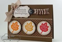 Stampin' Up! - Fall cards