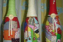 Garrafas decoradas