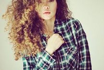 #NaturalHairPlaidShirt / Just in time for Fall, a collaborative curation of images of women with #NaturalHair rocking #PlaidShirts #NaturalHairPlaidShirt / by Mane and Chic