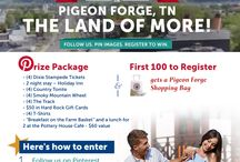 Pigeon Forge Pin2Win / by Live Healthy With Patty