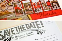 save the date / by Kim t