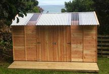 Garden shed / ideas for building my own shed