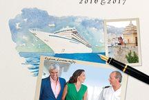 Crystal Celebrations / Help us celebrate milestones through Crystal Cruises history!