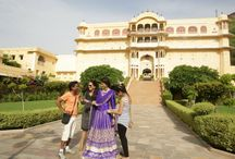 The Jaipur Bride - Behind the scenes / Beautiful, Serene & Magical. Words that perfectly describe our experience shooting for 'The Jaipur Bride' at The Samode Palace. Catch a glimpse of what was happening behind the scenes!