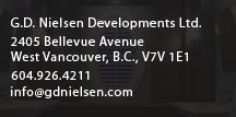 Ideas for the House / http://www.gdnielsen.com We've spent the past 27 years building Vancouver and West Vancouver's luxury custom homes.