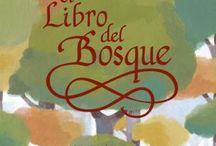 El Libro del Bosque / El Llibru la Viesca / Texto: María Josefa Canellada Ilustraciones: Sandra de la Prada  ISBN:9788492964253 (castellano) 9788492964246 (asturiano)  / by Pintar-Pintar Editorial