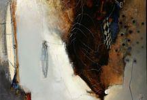 Collage and Encaustic / by Mirinda Kossoff