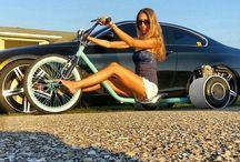 girls on bike