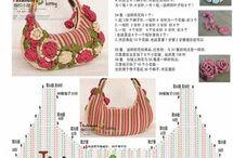 編み物バッグ