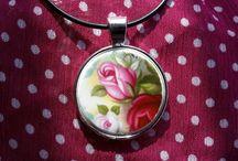 Saucery Jewellery by Ann / Broken China Jewellery