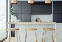 salon, kuchnia