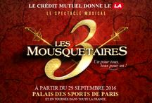 Les 3 Mousquetaires / by Sony Music France